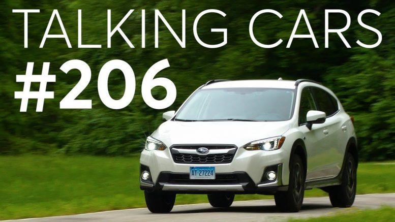 2019 Subaru Crosstrek Plug-In Hybrid First Impressions; Audience Questions| Talking Cars #206 1