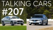 2019 BMW 330i and 2019 Volvo S60 Matchup | Talking Cars with Consumer Reports #207 2