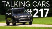 2020 Subaru Outback; Dealer Markups on Popular Cars | Talking Cars with Consumer Reports #217 4