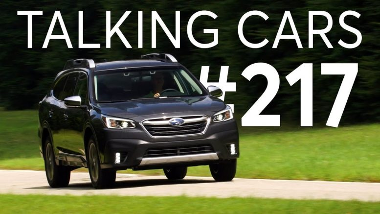 2020 Subaru Outback; Dealer Markups on Popular Cars | Talking Cars with Consumer Reports #217 1