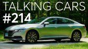 2019 Volkswagen Arteon First Impressions; Future Modern Classics | Talking Cars #214 4