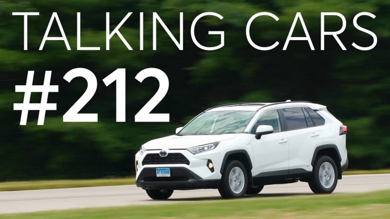2019 Toyota RAV4 Hybrid Test Results; CR's Tire Purchasing Survey Results | Talking Cars #212 1
