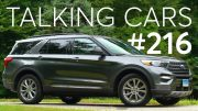 2020 Ford Explorer First Impressions; How Are CUVs and SUVs Different? | Talking Cars #216 3