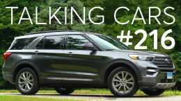 2020 Ford Explorer First Impressions; How Are Cuvs And Suvs Different? | Talking Cars #216 2