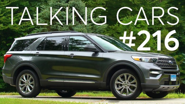 2020 Ford Explorer First Impressions; How Are Cuvs And Suvs Different? | Talking Cars #216 1