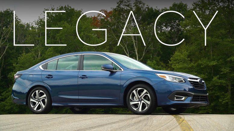 2020 Subaru Legacy Quick Drive | Consumer Reports 1