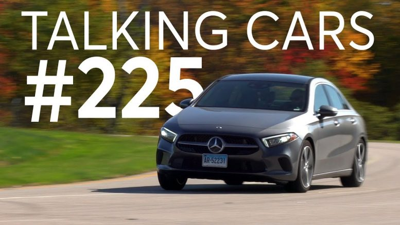 2019 Mercedes A220 Test Results; Why Windshield Replacements Are More Expensive | Talking Cars #225 1