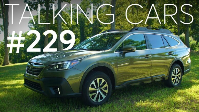 2020 Subaru Outback; Consumer Reports' Reliability Survey Results | Talking Cars #229 1