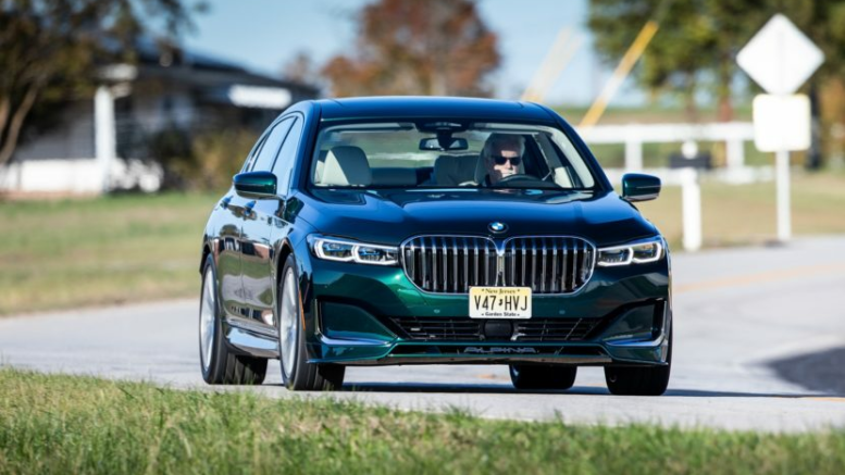 2020 BMW ALPINA B7 xDrive – New Photos of the ALPINA Green Color 1