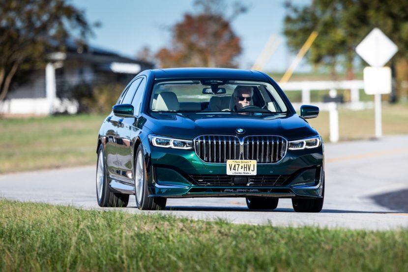 2020 BMW ALPINA B7 xDrive – New Photos of the ALPINA Green Color 7