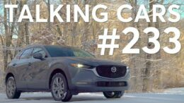 2020 Mazda CX-30 & 2020 Hyundai Venue; Is It Smart to Buy a Used Car Online? | Talking Cars #233 3