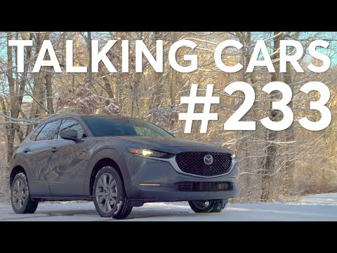 2020 Mazda CX-30 & 2020 Hyundai Venue; Is It Smart to Buy a Used Car Online? | Talking Cars #233 1