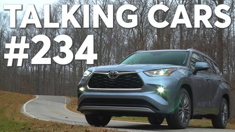 2020 Toyota Highlander First Impressions; Studded Tires &Amp; Rustproofing For Winter Driving 1