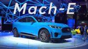 2019 LA Auto Show: 2020 Ford Mustang Mach-E | Consumer Reports 4