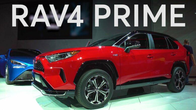 2019 LA Auto Show: 2021 Toyota RAV4 Prime | Consumer Reports 1