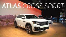 2019 LA Auto Show: 2020 Volkswagen Atlas Cross Sport | Consumer Reports 3
