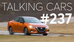 2020 Nissan Sentra; Ces Concept Cars; Are Re-Tread Tires A Good Option? | Talking Cars #237 1