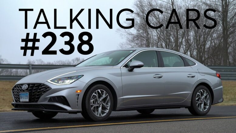 2020 Hyundai Sonata First Impressions; Audience Questions | Talking Cars With Consumer Reports #238 1