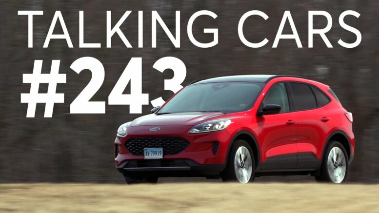 2020 Ford Escape Hybrid Test Results; CR Autos Spotlight | Talking Cars with Consumer Reports #243 1