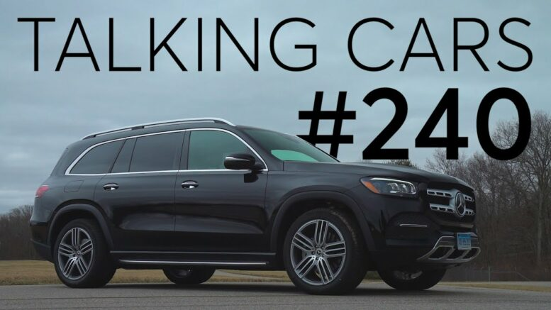 2020 Mercedes-Benz GLS Test Results; Captain's Chairs vs Bench Seats | Talking Cars #240 1
