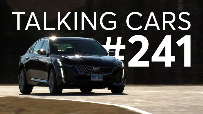 2020 Cadillac CT5 First Impressions; 'Super' Car Ads | Talking Cars with Consumer Reports #241 1