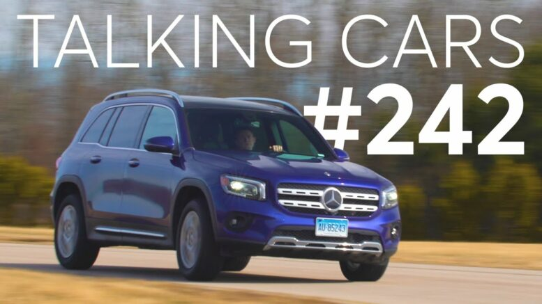 2020 Mercedes-Benz GLB First Impressions; Replacing Run-Flats with Standard Tires| Talking Cars 242 1