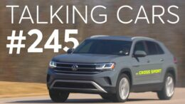 2020 Volkswagen Atlas Cross Sport; Coronavirus Affecting Auto Shows | Talking Cars #245 9