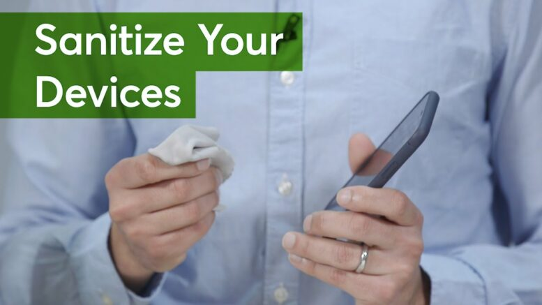 How To Sanitize Your Devices | Consumer Reports 1