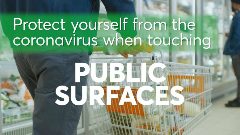 Protect Yourself From Coronavirus On Public Surfaces | Consumer Reports 1