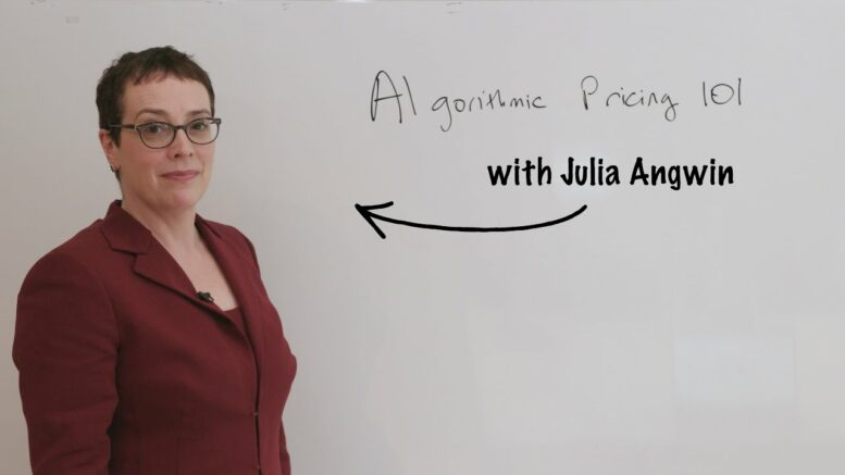 Algorithmic Pricing 101 With Julia Angwin | Consumer Reports 1