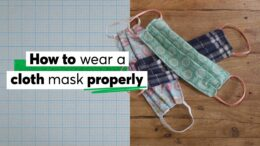 How to Wear a Cloth Mask Properly | Consumer Reports 10