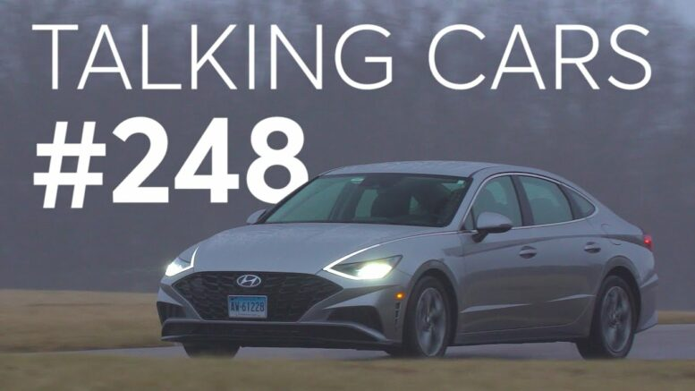2020 Hyundai Sonata Test Results; Staying Safe At The Pump | Talking Cars With Consumer Reports #248 1