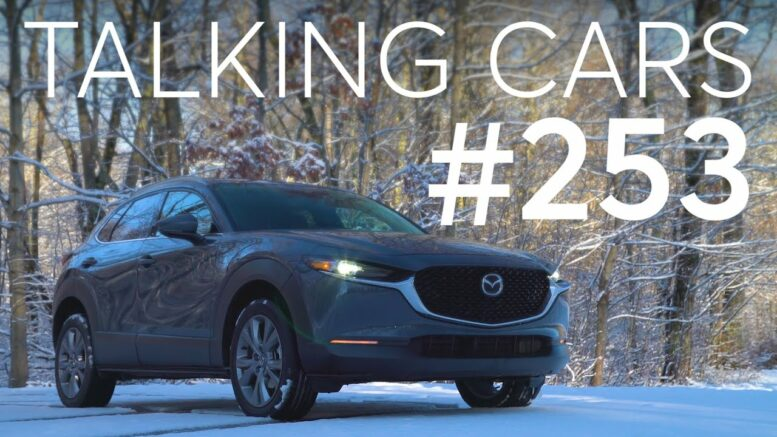 2020 Mazda Cx-30 Test Results; The Future Of Vehicle Communication | Talking Cars #253 1