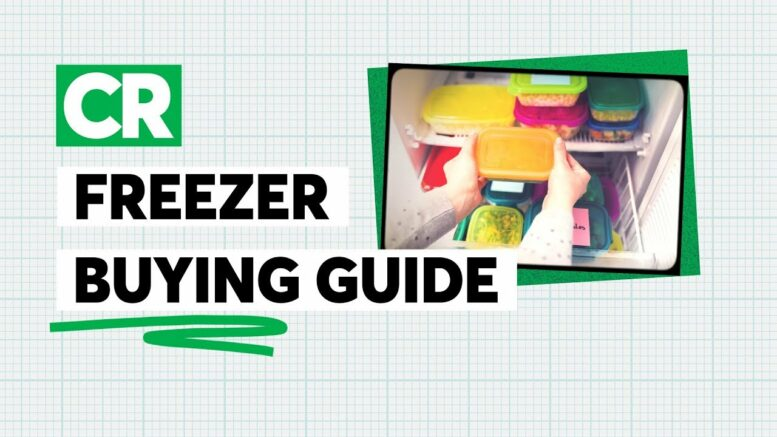 Freezer Buying Guide | Consumer Reports 1