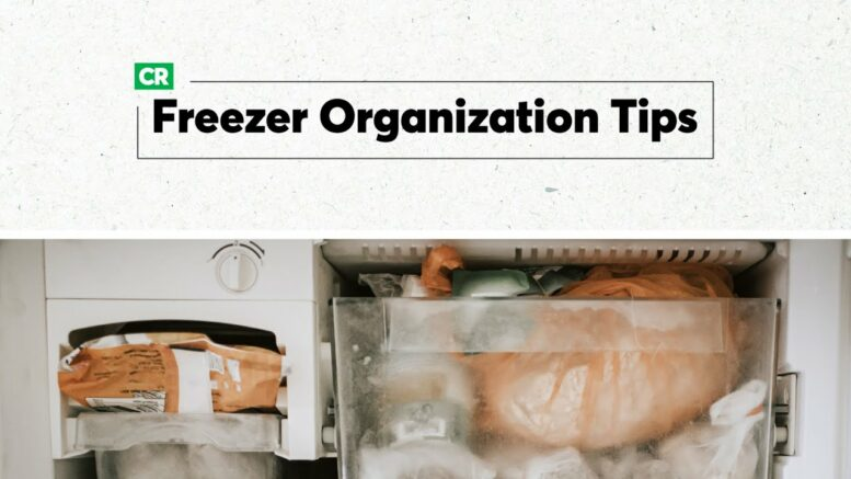 How To Organize Your Freezer | Consumer Reports 1