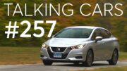 2020 Nissan Versa Test Results; How Ride Height Affects Crash Safety | Talking Cars #257 3