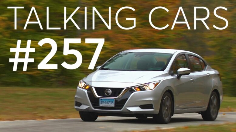 2020 Nissan Versa Test Results; How Ride Height Affects Crash Safety | Talking Cars #257 1