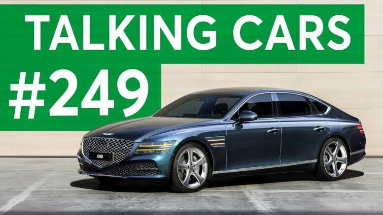 2021 Genesis G80 Debut; Coronavirus Car Seat Care | Talking Cars with Consumer Reports #249 1