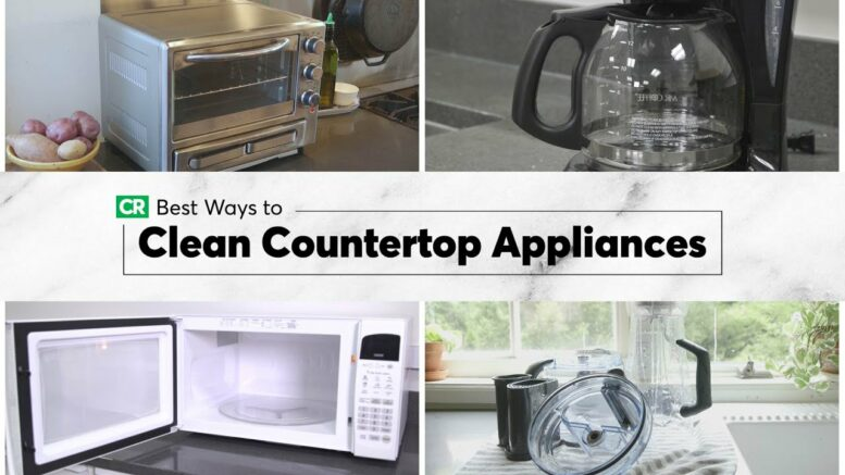 Best Ways To Clean Countertop Appliances | Consumer Reports 1