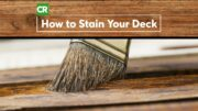 How to Stain a Wood Deck | Consumer Reports 5