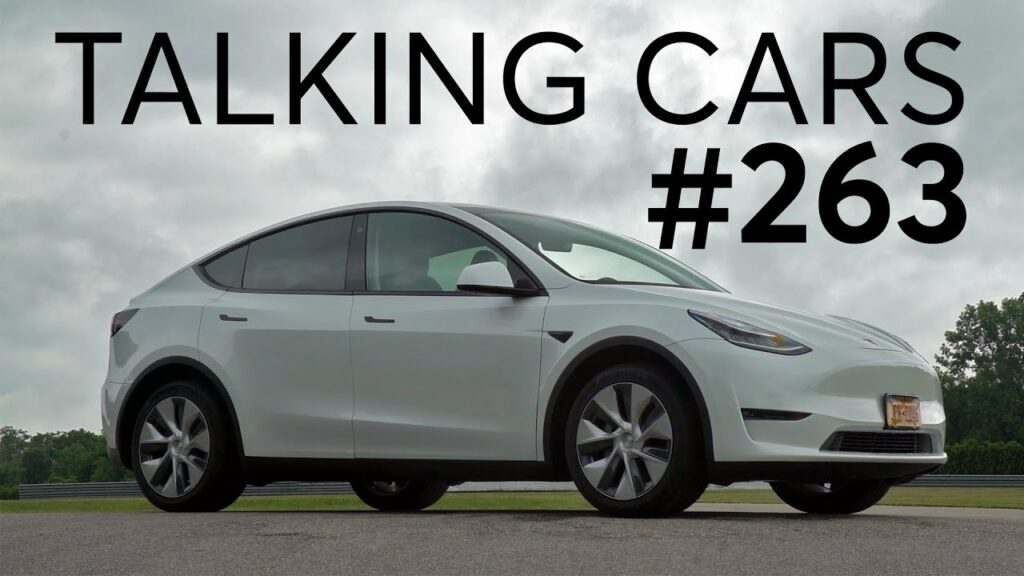 2020 Tesla Model Y First Impressions | Talking Cars with Consumer Reports #263 1