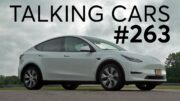 2020 Tesla Model Y First Impressions | Talking Cars with Consumer Reports #263 2