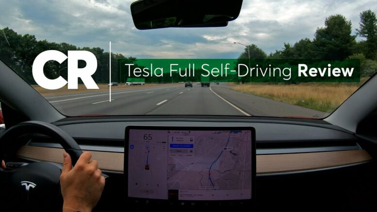 Tesla Full Self-Driving Review | Consumer Reports 1
