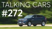 2020 Volkswagen Atlas Cross Sport Test Results; New Vehicle Announcements | Talking Cars #272 2
