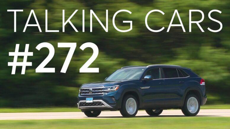 2020 Volkswagen Atlas Cross Sport Test Results; New Vehicle Announcements | Talking Cars #272 1