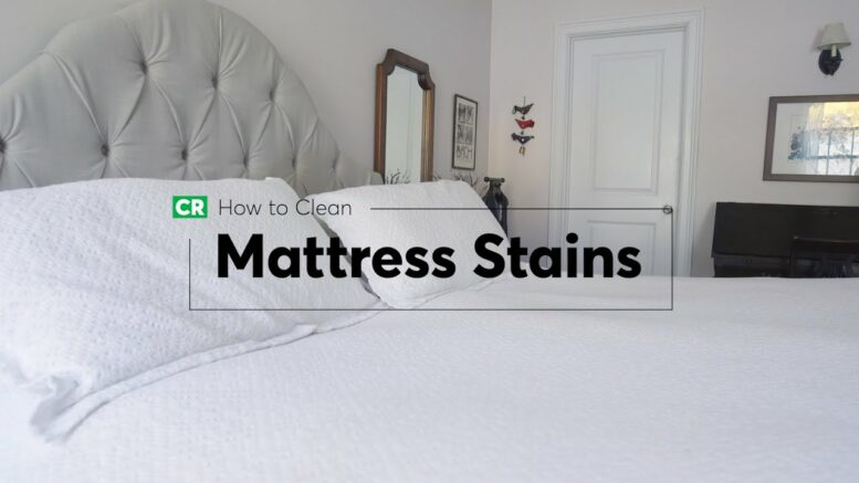 How To Clean Mattress Stains | Consumer Reports 1