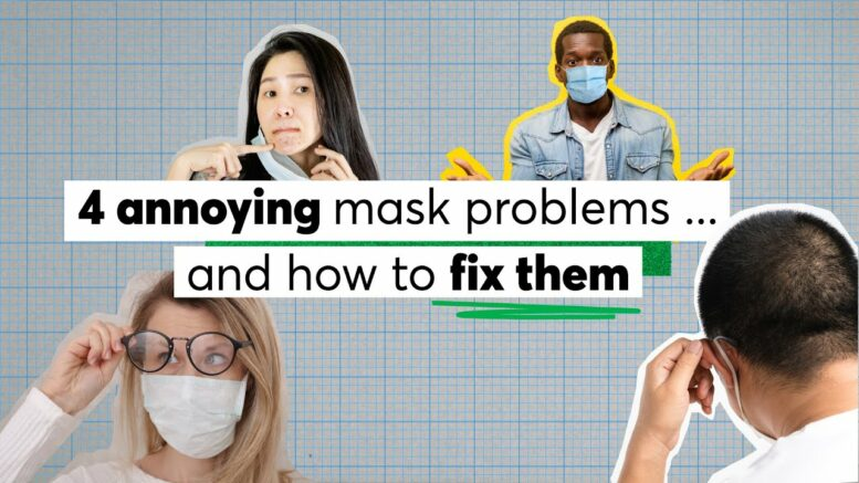 4 Annoying Mask Problems ... And How To Fix Them | Consumer Reports 1
