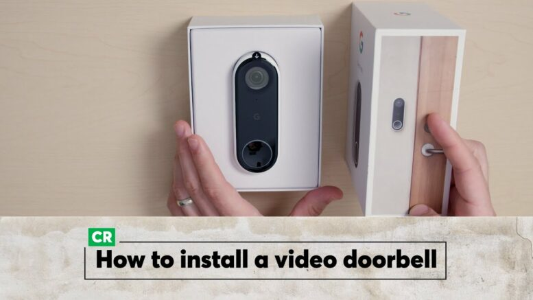 How To Install A Video Doorbell | Consumer Reports 1