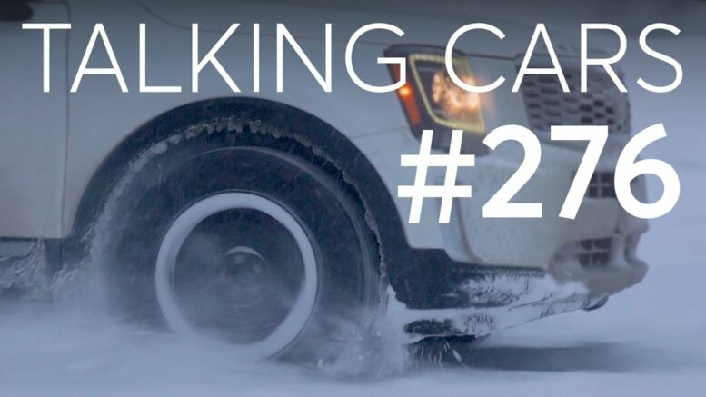 Winter Tire Performance; Are Online No-Haggle Car Services A Good Deal?   Talking Cars #276 1