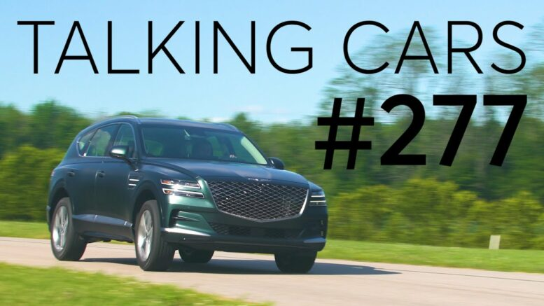 2021 Genesis Gv80 First Impressions; 2022 Volkswagen Taos Preview | Talking Cars #277 1